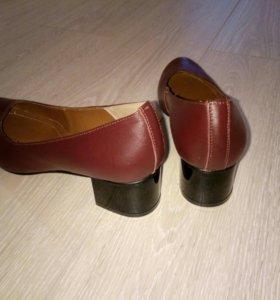 Туфли натуральная кожа. 40 размер.