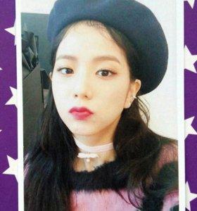 K-pop карточка с Джису (BLACKPINK)
