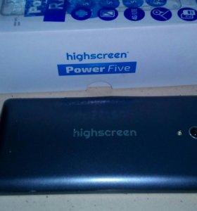 HIGHSCREEN pover five