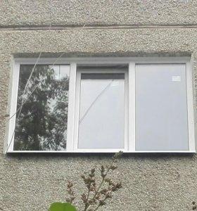 Окно пластиковое ПВХ