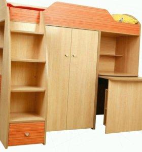 Детский гарнитур - кровать