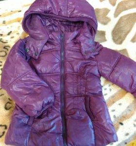 Куртка осенняя 2-3года