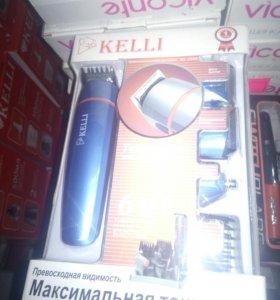 НОВАЯ!!!Машинка для стрижки KELLI KL-7000