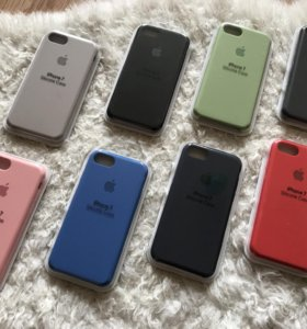 Apple Silicone Case для iPhone 7 новые