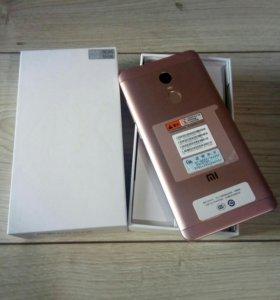 Xiaomi redmi note 4x 3/16 розовый pink