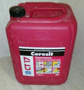Грунтовка Ceresit CT17, 4 кг