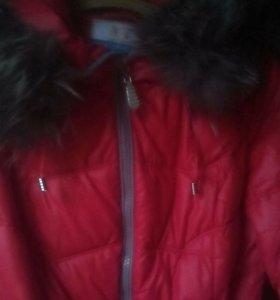 Зимние пальто очень теплое
