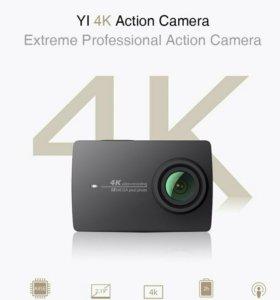 Экшн камера Xiaomi Yi2 4K action