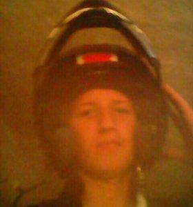 Мопедный шлем б/у