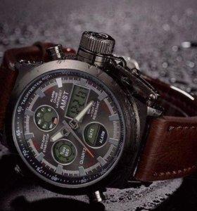 Новые мужские часы с подарком внутри!