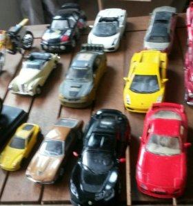 Машинки 30 штук