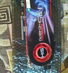 Видеокарта Radeon HD 4870,521мб.