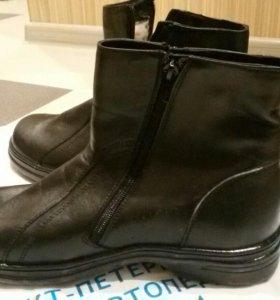 Ботинки зимние 40 р-р