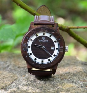 Деревянные наручные часы SKONE