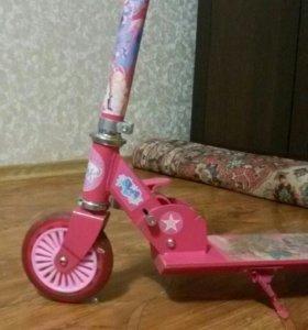 самокат для девочки