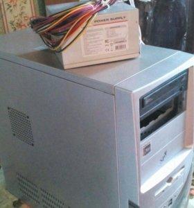 Процессор с вентилятором