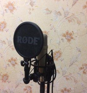 Конденсаторный микрофон Rode Nt1-A