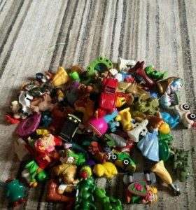 Пакет игрушек из киндера сюрприза