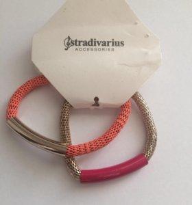 Новые браслеты Stradivarius