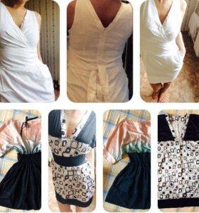 Платья, топ