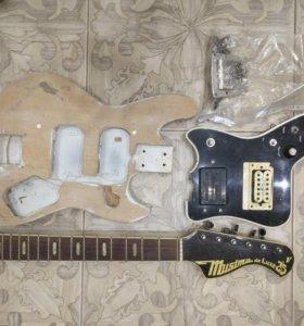 Ретро гитара