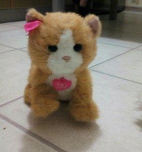 Интерактивная игрушка котёнок