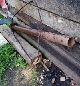 Устройство забивания труб