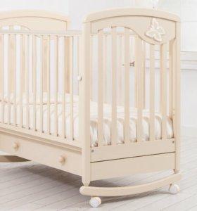 Кроватка Гандылян Джулия (бабочка)