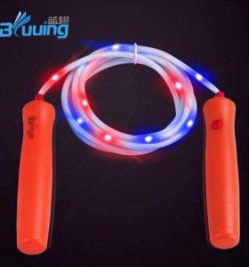 Светящаяся скакалка LED