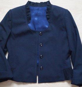 Жакет пиджак для девочки школьный
