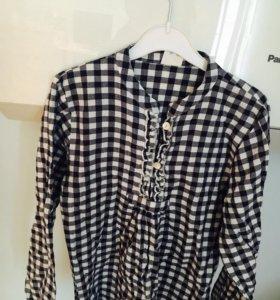 Рубашки для девочки 9-11 лет