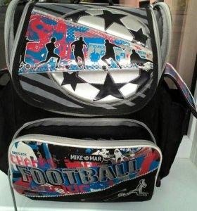 Рюкзак школьный Mike Mar футбол.