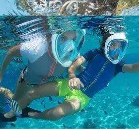 Маска для подводного плавания Easybreath