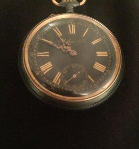 Карманные часы Hy Moser из оружейной стали 1905 г.