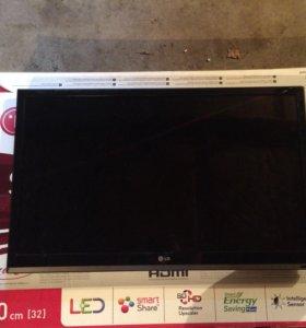 Телевизор ж/к LG (на запчасти или в ремонт)