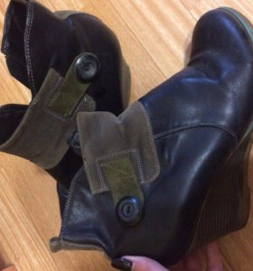 Осенние ботинки на платформе