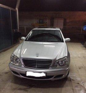 Mercedes-Benz S500 4 matic