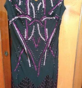 Продам модное вечернее платье. Размер 54