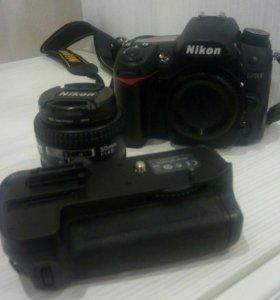 Фотоаппарат Nikon d7000, батарейный блок MB-D11