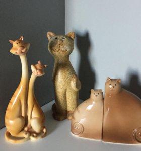 Статуэтки Коты