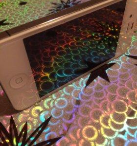 Айфон 4s, коробка, наушники, зарядное устройство