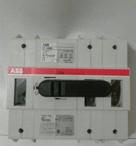 """Рубильник """"ABB""""OT160M3 до 160А"""