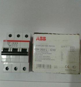 """Автоматический выключатель """"АВВ"""" SH203L C10"""