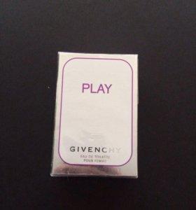 Новый Givenchy play pour femme