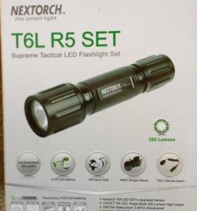 Набор - фонарь подствольный T6L R5 SET (новый)