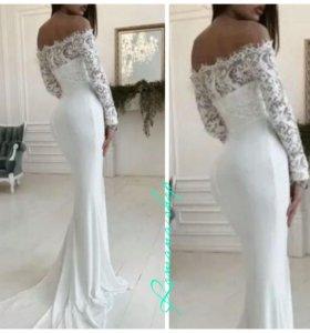 Платье в пол miss ord