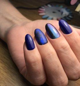 Покрытие ногтей гелем и гель-лаком
