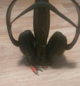 Наушники без проводные ловят радио +потслушка