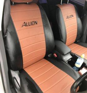 Авточехлы на Toyota Allion 240