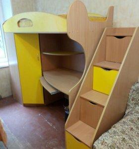Кровать -чердак,(продано)